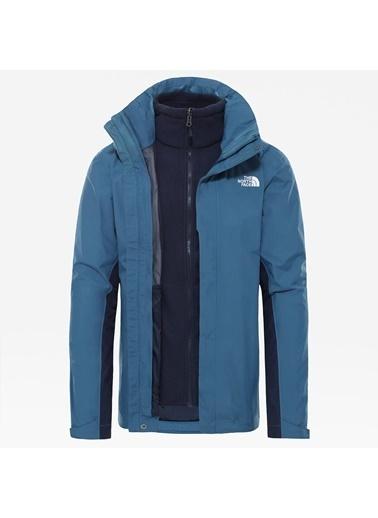 The North Face Erkek Evolutıon Iı Trıcl Ceket 3N1Nf00Cg53Sf61 Mavi